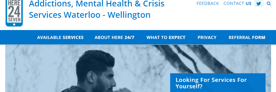 Here 24 7 1 844 437 3247 Here247 Addictions Mental Health Crisis Services