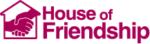 House of friendship logo